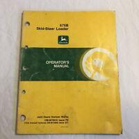 John Deere 675B Skid Steer Loader Operators Manual OM-M79635 F9 (54)