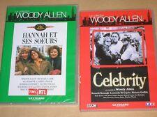 LOT 2 DVD WOODY ALLEN / HANNAH ET SES SOEURS + CELEBRITY / NEUF ET TR B ETAT