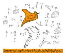 MERCEDES OEM 2000 ML430-Quarter Trim Panel Right 16369034257E33