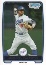 2012 Bowman Chrome Draft Draft Picks #BDPP11 Jesmuel Valentin LA Dodgers