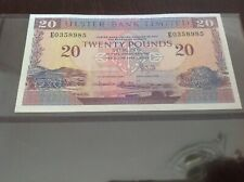 £20 Northern Ireland banknote. Ulster Bank Limited dated 1990
