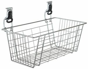 Rubbermaid FastTrack Garage Storage Wire Mesh Basket Individual Wire Basket