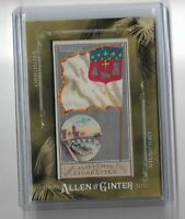 2017 Allen Ginter Originals City Flags Toulouse Original Cigarette pack card