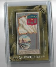 2017 Allen Ginter Originals City Flags Toulouse Original Cigarette pack card