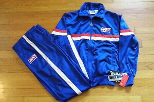 Deadstock RETRO 90s Starter Men's Tracksuit Set. New York Giants. Multiple Sizes