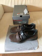 NEU Original PRADA Herren Leder Sneaker Schuhe 46 NEW PRADA Men's Sneaker Sz.10