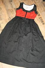 N 101 @ bávara @ miederdirndl @ Trachten vestido @ 60th - 70th Vibtage-dress @ 36-38