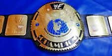 WWF BIG EAGLE SCRATCH LOGO CHAMPIONSHIP BELT IN 4MM THICK BRASS PLATES!
