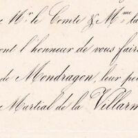 Henriette De Mondragon 1853 Martial De La Villarmois