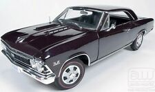 1966 Chevelle SS396 PLUM MIST 1:18 Auto World 1008