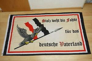 Flagge Deutsches Reich Stolz weht die Fahne für das deutsche Vaterland 90 x 150