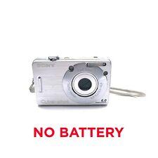 *NO BATTERY* Sony Cybershot DSC-W50 6MP 3x Zeiss Pro Duo Digital Camera Tested