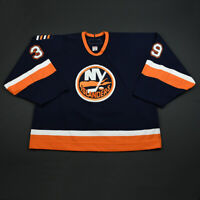 2006-07 Rick DiPietro New York Islanders Game Used Worn Hockey Jersey MeiGray