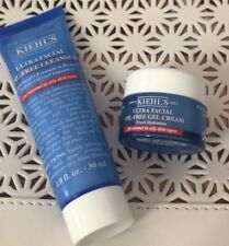 Set of Kiehl's Ultra Facial Oil-Free Cleanser 1oz + Gel Cream .25oz