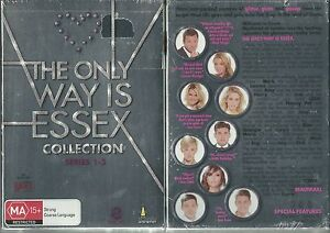THE ONLY WAY IS ESSEX COLLECTION THE COMPLETE SERIES 1-3 NEW 8 DVD BOXED SET