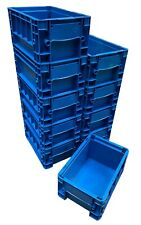 10 x 5.3 Litre Heavy Duty KLT Plastic Stacking Euro Storage Containers Boxes