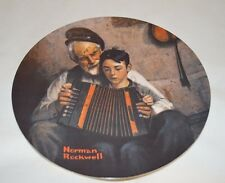 "*New*Norman Rockwell ""The Music Maker"" Plate, 1981 Heritage Collection (3,Pl3)"