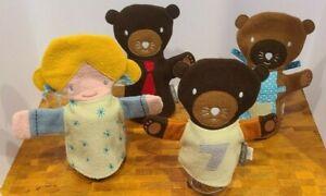 Land Of Nod Goldilocks Three Bears Hand Puppet Crate & Barrel Kids