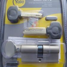 Yale smart door lock cylinder high security euro profile with knob 66