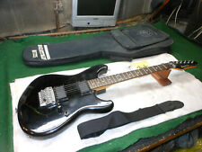 Vintage Ibanez Roadstar Electric Guitars Black Double Humbucker Push Pot Boost
