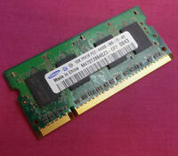1GB Samsung M470T2864QZ3-CF7 DDR2 PC2-6400S 800MHz SODIMM Laptop Memory