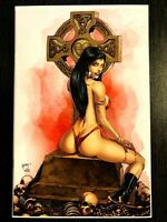 VAMPIRELLA #1 VIRGIN VARIANT MARAT MYCHAELS EXCLUSIVE COA LTD 400 NM+ 🔥