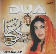 SAIRA NASEEM - DUA - BRAND NEW NAAT CD