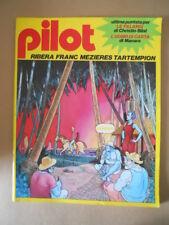 PILOT Rivista Fumetti n°4 1982 Christin Bilal - Uomo di carta Manara   [G329]