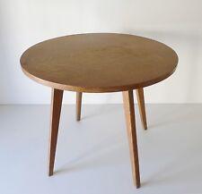 TABLE BASSE 4 PIEDS EN BOIS DESIGN ANNÉES 50 VINTAGE LOFT 1950