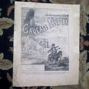 "1901/ 1902 #3 ""Le Caucase Illustrè"" Illustrated Caucasus FRENCH Newspaper RUSSIA"