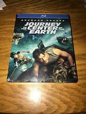 BRENDAN FRASER JOURNEY TO THE CENTER OF THE EARTH BLU-RAY STEELBOOK BRAND NEW
