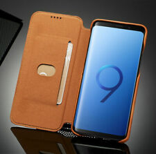 Magnetic Leather Flip Stand Wallet Case Cover For Samsung Galaxy S7 8 9 Note 8 9