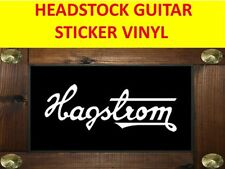 HAGSTROM WHITE PEGATINA STICKER GUITAR VISIT OUR STORE WITH MANY MORE MODELS