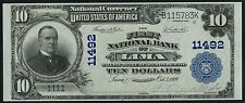 FR624 $10 1902 FIRST NAT'L BANKNOTE OF ROCHESTER, IN CHARTER #7655 VF+ WLM1868