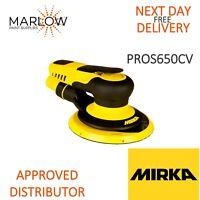MIRKA PROS 650CV 150M DA AIR SANDER 5MM ORBIT-CENTRAL VACUUM *NEXT DAY DELIVERY*