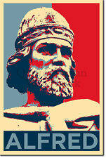 Alfred The Great Art Print 'Hope' - Photo Poster Gift - King of Wessex