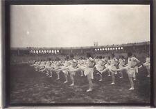 Lyon 1926 Fêtes de la Jeunesse Gymnastique Sport France Photo n14 Vintage