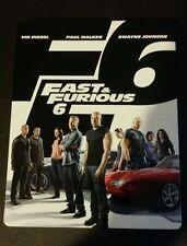 Fast & Furious 6 Steelbook Blu-Ray light shelf wear white case