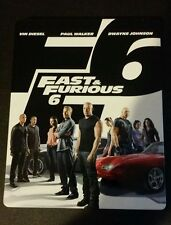 Fast & Furious 6 Steelbook Blu-Ray small dents dings shelf wear