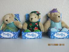 Muffy Celebration Bears (Set Of 3) Retired