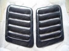 20cm *30cm Carbon Fiber Air Scoops Vents for BMW Audi Kia Opel Type 011