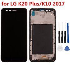 LCD+TOUCH SCREEN+FRAME per LG K20 Plus/K10 2017 VETRO SCHERMO DISPLAY+TELAIO Hot