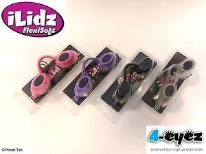iLidz Flexisoft Sunbed Tanning Eye Wear UV Protection Choose from 4 Colours