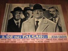 IL RE DEI FALSARI GRANGIER BLIER ,J.GABIN,,FOTOBUSTA 2