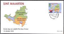 Sint Maarten  FDC Nummer E 1