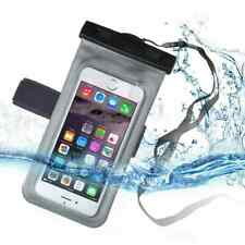 Waterproof Mobile Phone Case For iPhone X Xs Max Xr 8 7 Samsung S9 Clear PVC Sea