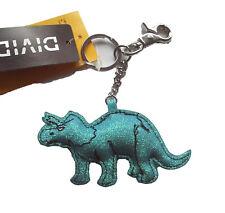 Anhänger Dino H&M NEU 5x10 grün türkis glitzer Taschen Schmuck Schlüssel