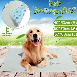L-Pet Cooling Mat Cool Pad Comfortable Cushion Bed for Dog Cat Puppy Ice