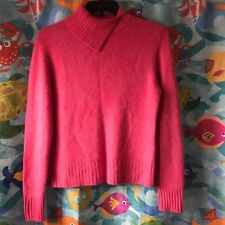 Womens Charter Club Ceris Pink 2-Ply Cashmere Pullover Sweater XL