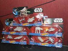 Star Wars Hotwheels Diecast Joblot of 5 Sealed